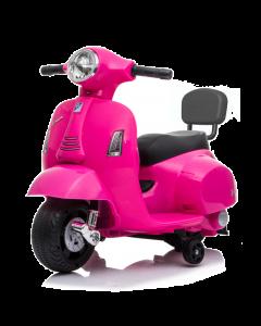 Vespa Mini moto elettrica a tre ruote 6V rosa