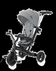 Kinderkraft Triciclo 5 in 1 TWIPPER - grigio